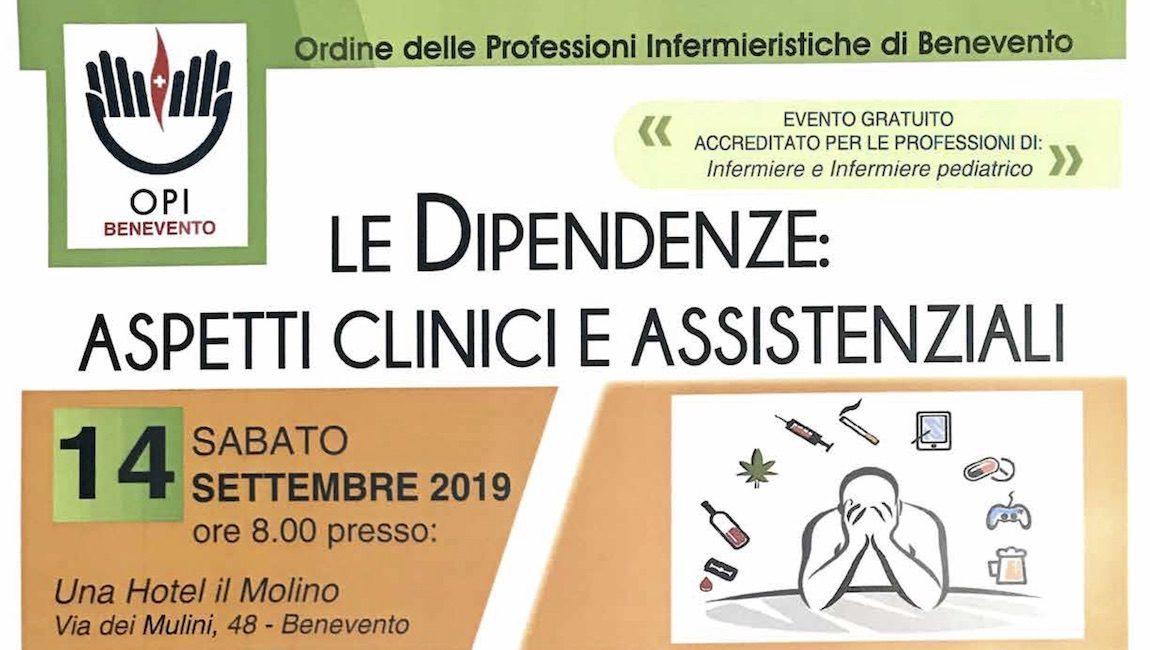 CORSO DI FORMAZIONE ECM – Le Dipendenze: aspetti clinici e assistenziali