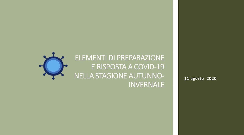 Elementi di preparazione e risposta a COVID- 19 nella stagione autunno-invernale